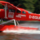 Wasserflugzeug-abheben