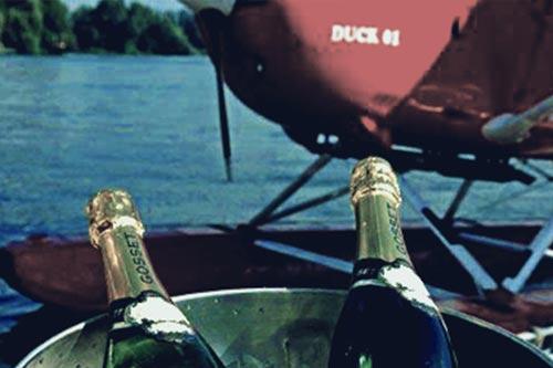 champagnerflug-angebot